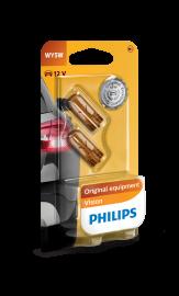 Philips Standard 12V 5Watt WY5W Orange 2stk