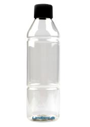 Opbevaringsflaske plast 500ml
