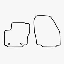 Bundmåtter af stof til Vw Sharan Seat Alhambra Ford Galaxy 2