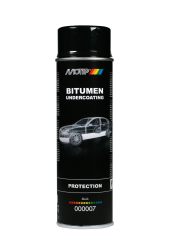 Motip Sort Undervognsbeskyttelse Spray 500ML
