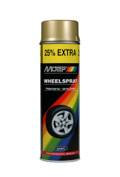 Fælgspraymaling Guld Motip 500ML