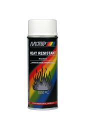 Varmefast Motip spraymaling Hvid 400ML 800GR.