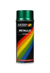 Grøn metallic effekt spraymaling Motip Lak 04043 400ML