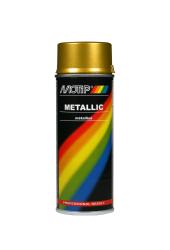 Guld metallic effekt spraymaling Motip Lak 04047 400ML