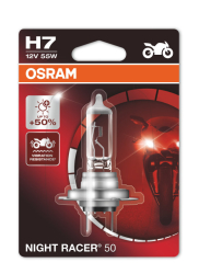 Osram Night racer 50 H7 MC pære