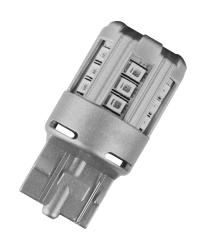 Osram LED 12 V W21W T20 SC Rød 2 stk