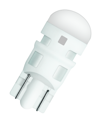 Osram LED 12 V W5W Rød 2 stk