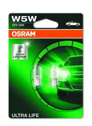 Osram Lampe ULTRA Life, W5W 2stk