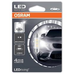 Osram LED 41mm 0.5W 6000k
