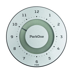 ParkOne elektronisk parkeringsskive - Metal