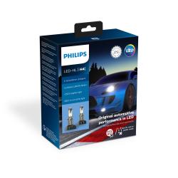 Philips X-treme Ultinon H4 LED gen II +250% 1 sæt