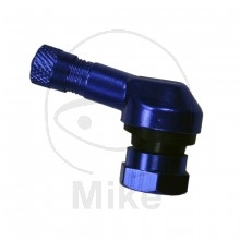 Blå Dæk ventil metal MC Scooter