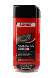 Sonax Polish - Wax Color Rød