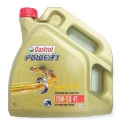 Castrol Power 1 4T 15W-50 4L