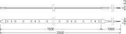 Osram LED Bånd 150cm hvidt lys Kabinelys