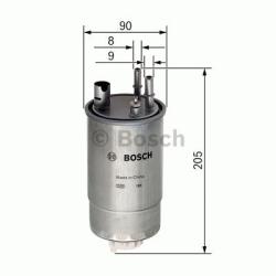 N2054 Brændstoffilter Bosch