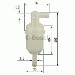 N4077 Brændstoffilter Bosch