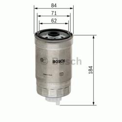 N4187 Brændstoffilter Bosch