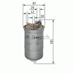 N6453 Brændstoffilter Bosch