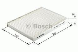M2045 Pollenfilter Kabineluftfilter Bosch