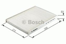 M2055 Pollenfilter Kabineluftfilter Bosch