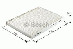 M2235 Pollenfilter Kabineluftfilter Bosch