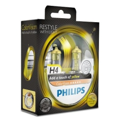 Philips ColorVision H4 Yellow 2stk