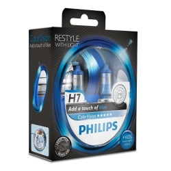Philips ColorVision H7 Blue 2stk