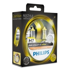 Philips ColorVision H7 Yellow 2stk