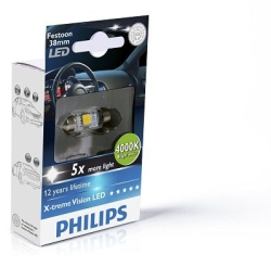 Philips Festoon X-tremeVision LED 10.5x38mm 4000k