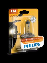 Philips H4 Vision Moto 1stk
