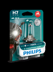 Philips H7 Pære X-tremeVision Moto 1stk
