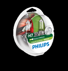 Philips Longlife EcoVision H7 2stk