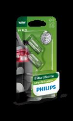 Philips Longlife EcoVision W5W 2stk