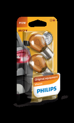 Philips Pære PY21W Vision 2stk