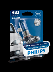 Philips WhiteVision HB3 1stk