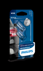 Philips WhiteVision W5W 2stk