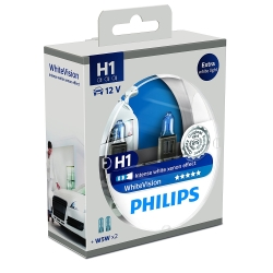 Philips WhiteVision H1 + W5W 2 2 stk