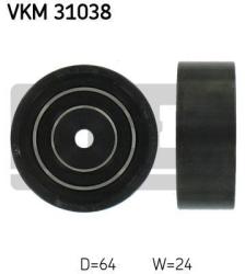 SKF Medløberhjul multi-V-rem VKM31038