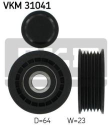 SKF Medløberhjul multi-V-rem VKM31041