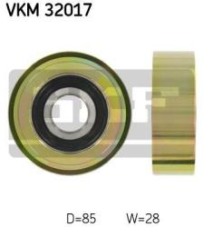 SKF Medløberhjul multi-V-rem VKM32017
