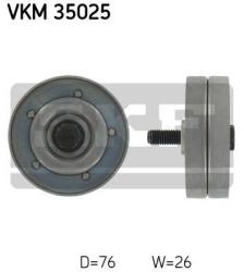 SKF Medløberhjul multi-V-rem VKM35025