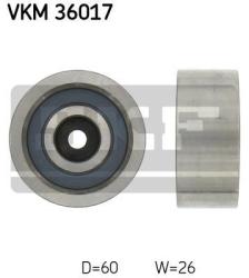 SKF Medløberhjul multi-V-rem VKM36017