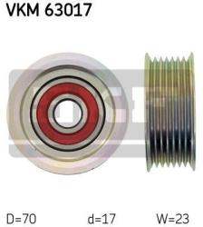 SKF Medløberhjul multi-V-rem VKM63017