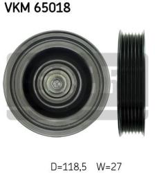SKF Medløberhjul multi-V-rem VKM65018