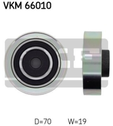 SKF Medløberhjul multi-V-rem VKM66010