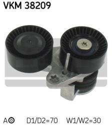 SKF Strammehjul kilerem VKM38209