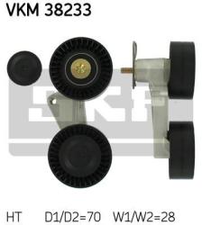 SKF Strammehjul kilerem VKM38233