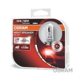 Osram NightBreaker Silver 100% H4 2stk