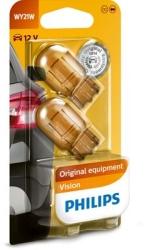 Philips Standard 12V 5Watt WY21W Orange 2stk